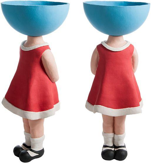 grote pop van keramiek door Popjes Art