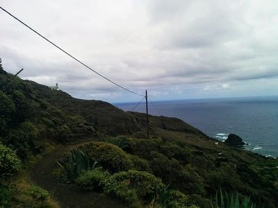 Hiking trails in Anaga mountains, Tenerife, Canary Islands