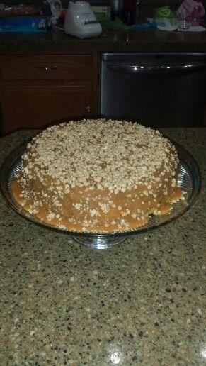 Triple Caramel Cheesecake