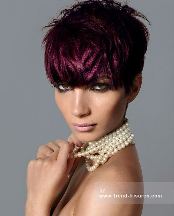 Haare zwei farben farben