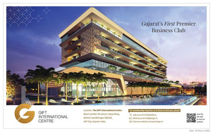 Gift International Center on Times of India, Ahmedabad Gujarat