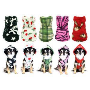 Hip Doggie Cherry Polar Fleece Hoodie | Sweaters & Coats | PetSmart