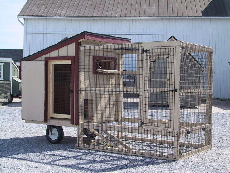 AMISH PA DUTCH BUILT PIGEON DOVES PHEASANT QUAIL COOP PEN LOFT CUSTOM CAGE HOUSE