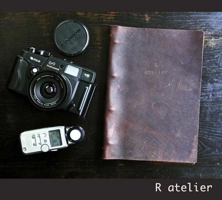 A4 Leather Ring Binder | Refillable Notebook Journal Cover #leatherjournal #ringbinder #leathergifts #A4journal #journaling #journallove #plannerlove