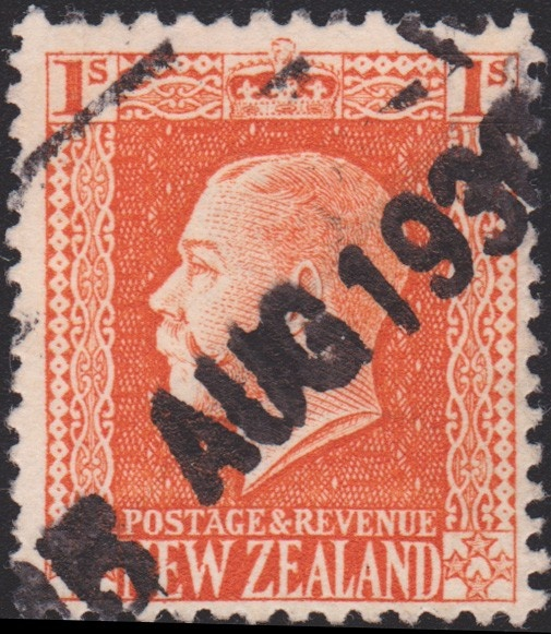 King George V New Zealand definitive 1930