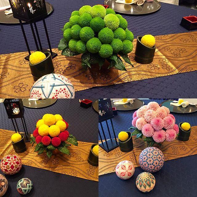 遅くなったけど ブライダルフェアの和コーディネートです。 ピンポンマムだけでアレンジしました。 #ウエディング#ブライダル#フローリスト#ブライダルフェア#Wedding#Bridal#Florist#Kawaii#Flower#フラワー#花#ピンポンマム#和 #pingpongmum