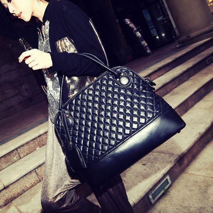 Hot nova bolsa rebites senhorita Han Ban saco acolchoado grande moda bolsas por atacado, transporte livre US $19.99