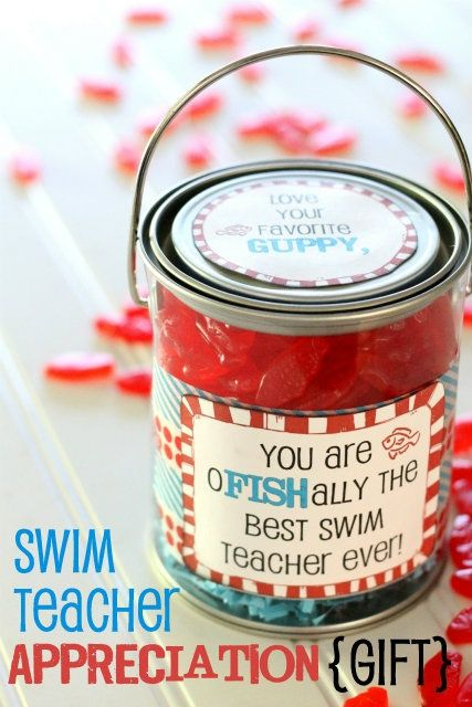 Gift for Swim Teachers or Swim Team Coaches gifts