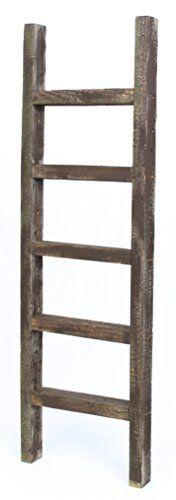 BarnwoodUSA Rustic 4 Foot Decorative Wooden Ladder - 100%... https://www.amazon.com/dp/B01EK2ALKM/ref=cm_sw_r_pi_dp_x_jisGybAR4S9Q7