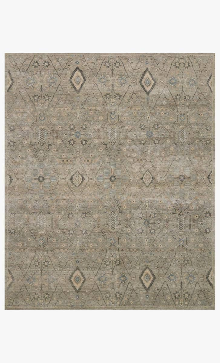 Intricately Hand Knotted In India Of 100 Wool The Legacy Collection Eschews Trend In Favor Of Enduring Timelessness The Distressed Wool Rug Stone Loloi Rugs Hand knotted wool rugs from india