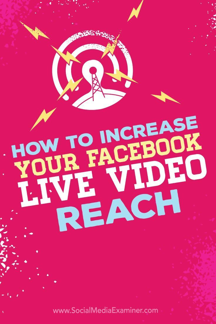 Do you broadcast Facebook Live videos? Monitoring the reach and engagement of your Facebook Live broadcasts lets you see what's working and what you need to do to improve your results. In this article, you'll discover tips to improve the reach of your Facebook Live video broadcasts. Via /smexaminer/.