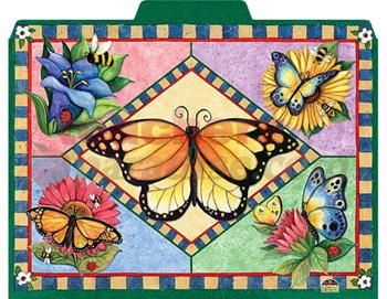 Butterflies 12/Pk File Folders From Susan Winget (12/Pk) from TeachersParadise.com | Teacher Supplies and School Supplies