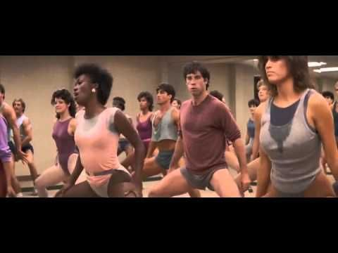 Perfect The Best Aerobic John Travolta & Jamie Lee Curtis - YouTube
