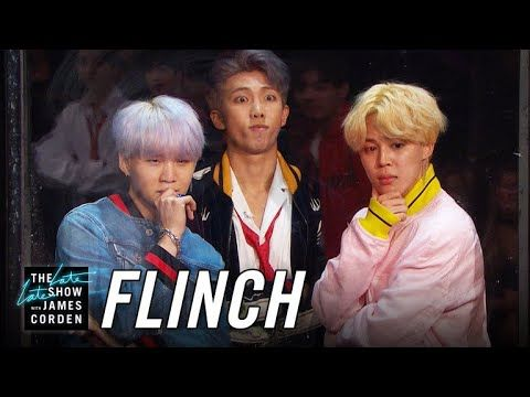 Flinch w/ BTS. This is the best thing I've seen in a long time!  #BTS #Flinch #Kpop