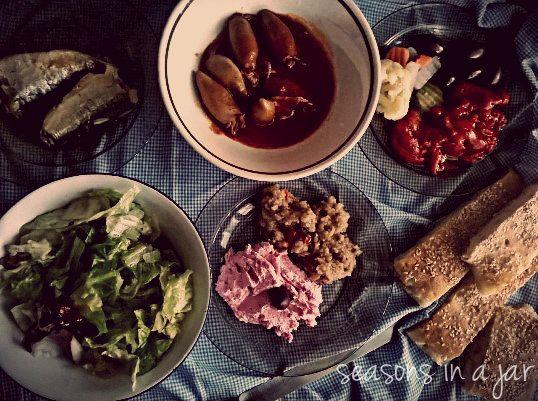 Seasons in a jar: Το φαγητό της Σαρακοστής