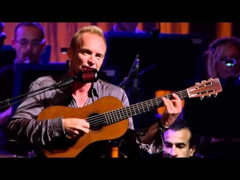 Sting - Live in Berlin 2010 with the Royal Philharmonic Orchestra (full concert - 2:02:12), with the greatest hits of Sting, plus Police songs ... includes Fragile, A Thousand Years, All This Time, Seven Days, Don't Stand So Close to Me, When We Dance, Roxanne, If You Love Somebody Set Them Free, Brand New Day, Fields of Gold, Shape of My Heart, If I Ever Lose My Faith In You, Every Breath You Take, Every Little Thing She Does Is Magic, Englishman in New York and much more ...