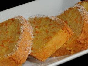 Receta   Bizcocho de zanahoria y limón