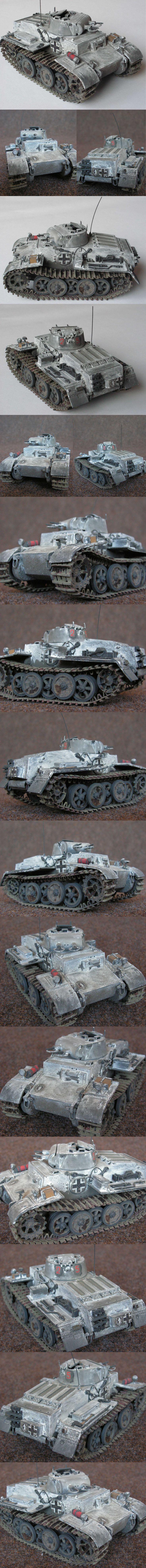 PzKpfw I F - 1. Panzer division, Ostfront, 1943 Alan