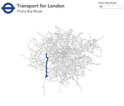Converting Eastings and Northings into a Tableau Transport for London Bus Route Finder Using Alteryx