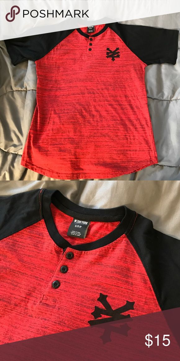 ♦️ZOO YORK Shirt♦️ Size Small, new & never worn w/o tags. Black & red, red stitching on the black. Nice shirt!! 💥BUNDLE all 3 ZY shirts, & get a deal!!!!! 💥 Zoo York Shirts Tees - Short Sleeve