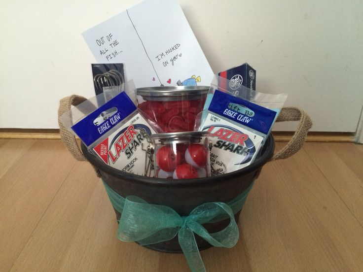 The 25 best fishing gift baskets ideas on pinterest men for Fishing gift basket