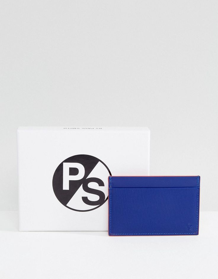 Get this Ps By Paul Smith's purse now! Click for more details. Worldwide shipping. PS by Paul Smith Embossed Leather Bright Card Holder in Blue - Blue: Card holder by PS By Paul Smith, Textured leather, Contrast colouring, Multiple compartments, Embossed branding to base, 100% Real Leather. Designed in the UK, PS by Paul Smith bears all the hallmarks of Sir Paul Smith�s individual and quintessentially British style. Signature prints are spread across slim fit shirts, while off-duty basics…