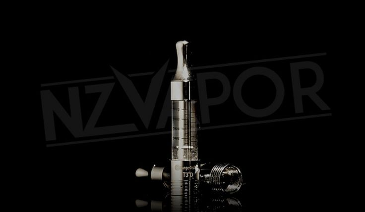 KANGERTECH T3D TANK (2.2ML) Stylish and sleek, the Kangertech range has a very sophisticated look and feel. Dual coils give excellent vape production.  The dual bottom coils and high air flow in the T3D gives the vaper an excellent vape production. And the sleek design keeps your e cig looking good!