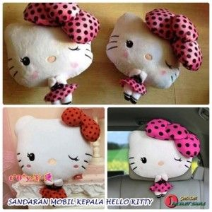 HEADREST SANDARAN KEPALA HELLO KITTY ORI  http://grosirproductchina.co.id/headrest-sandaran-kepala-hello-kitty-ori.html