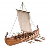 AL19001 VIKING BOAT масштаб 1:75 (корабль викингов)