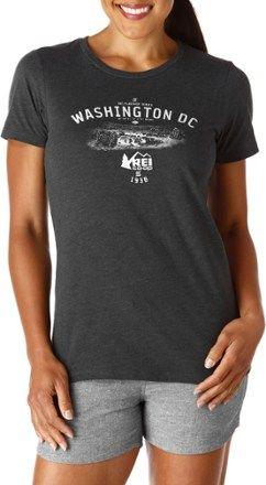 REI Women's REI Logo Washington D.C. T-Shirt