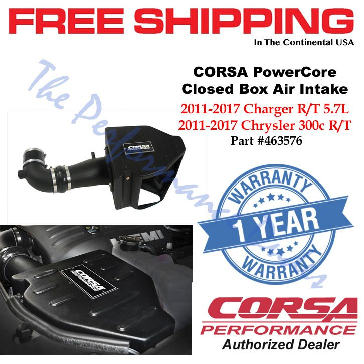 Same Business Day Shipping Corsa PowerCore Air Intake 2011-2017 Charger & Chrysler 300 SRT 5.7L 463576