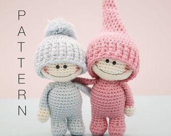 Jack The Gardener amigurumi crochet pattern by BlueBerryWorld