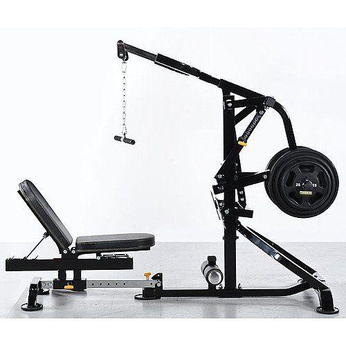 Home Gym Compact: Powertec Levergym Compact Gym