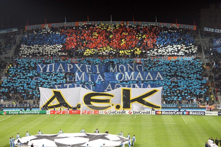 OM / Olympiakos (Champions League - 5ème journée) - South Winners Marseille - Olympique de Marseille - http://www.sw87.com