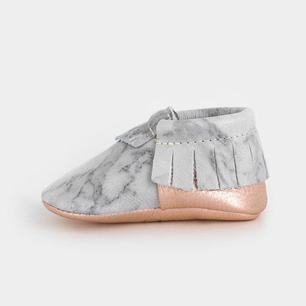 Freshly Picked Marble Print Moccasins
