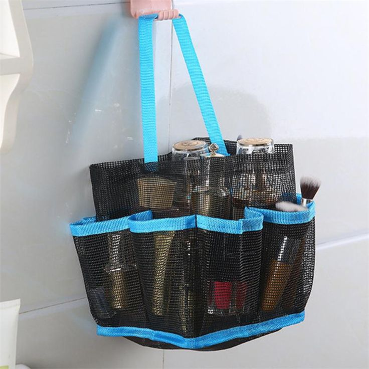Monogrammed Shower Caddy For College