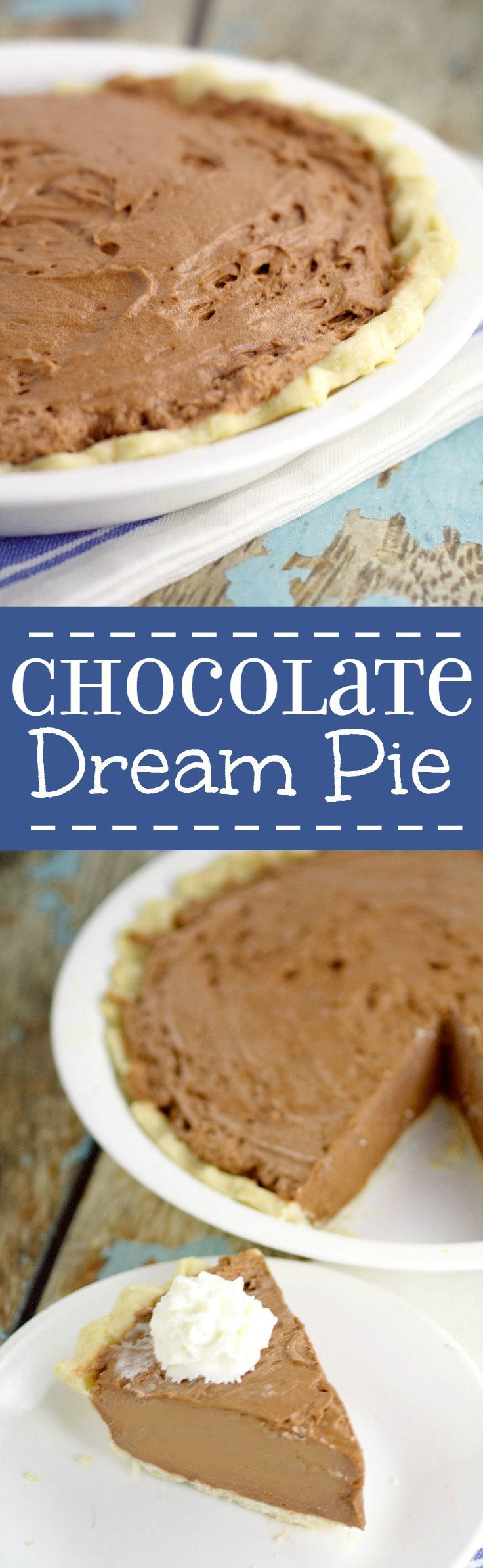 Best 25+ Homemade chocolate pie ideas on Pinterest | Chocolate pie ...