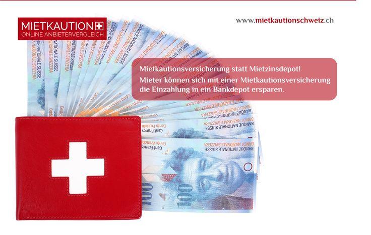 Mehrere Tausend Franken für die #Mietkaution sperren? Dass muss nicht sein. Denn mit der #Mietkautionsversicherung mieten #Schweizer #Mietern #kautionsfrei.