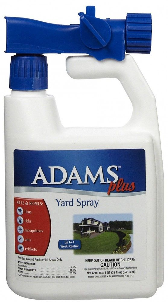 Adams Plus Yard Spray Comes With Our 100 Satisfaction