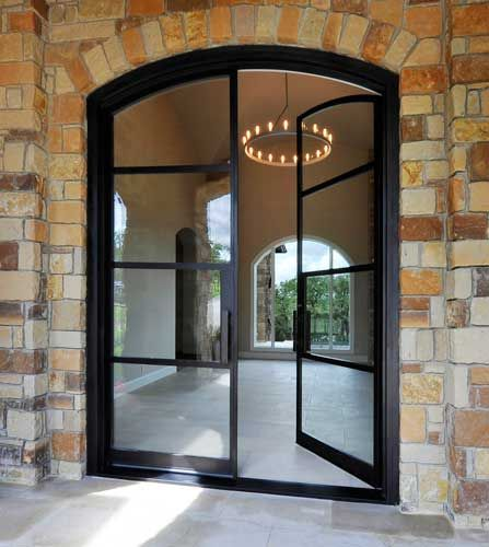 Steel Doors Eyebrow Arch 4 Lite Ideas For My Home