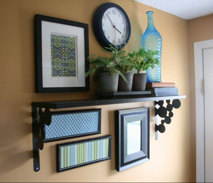1000 ideas about shelf arrangement on pinterest wall
