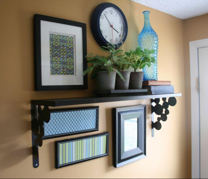 1000 ideas about shelf arrangement on pinterest wall