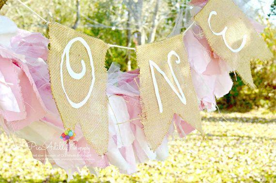 BUBLE GUM Rag Bow tie Garland torn fabric Shabby Chic Bunting Pink Swag Fabric Garland Nursery Boho Wedding Birthday Photography Prop
