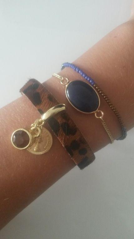 Armband leopard <3
