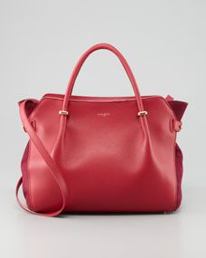 Marche Small Tote Bag, Rose. Nina Ricci  handbags, find them on eBay, brought together for you in one convenient site! Time and money savings! www.womensdesignerhandbag.com