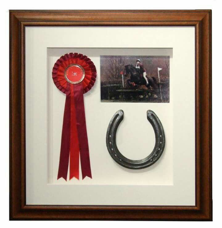 Horse shadow box