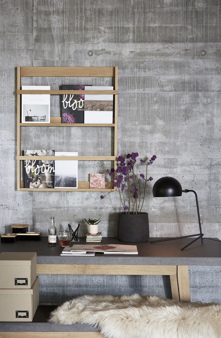 The working space is trending right now. Create your own personal, functional sanctuary with our collection of office furniture in beautiful oak, stylish acrylic boxes and new wall-hanging solutions.