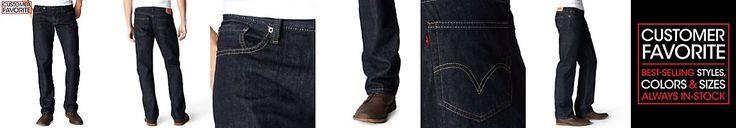 Levi's 514 Straight-Fit Jeans, Tumbled Rigid Wash
