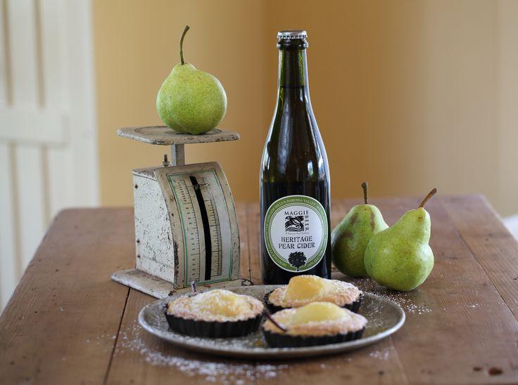 Pear and Frangipane Tarts - Maggie Beer
