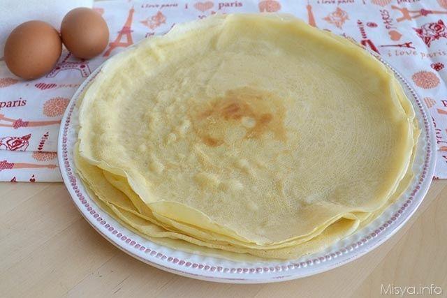 » Impasto per crepes Ricette di Misya - Ricetta Impasto per crepes di Misya